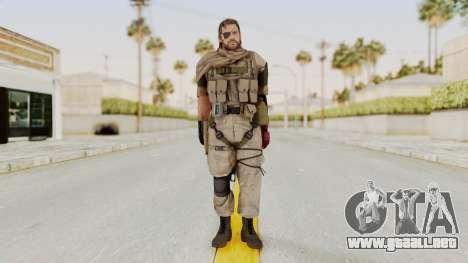 MGSV The Phantom Pain Venom Snake Scarf v3 para GTA San Andreas segunda pantalla