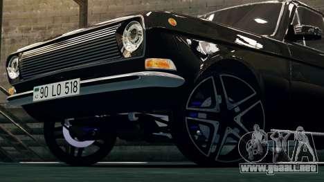 Gaz 24 Volga para GTA 4 left