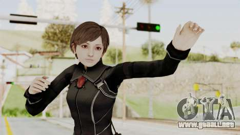Resident Evil 0 HD Rebecca Chambers Wesker Mode para GTA San Andreas