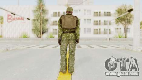 MGSV The Phantom Pain Soviet Union LMG v2 para GTA San Andreas tercera pantalla