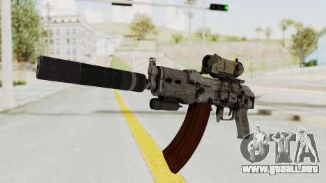 Combat SMG para GTA San Andreas segunda pantalla