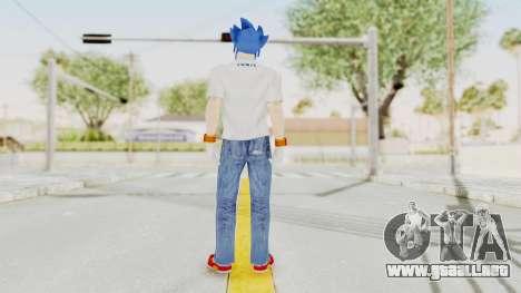 Sonic Man para GTA San Andreas tercera pantalla