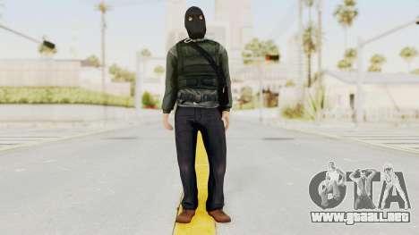 Battlefield 3 Bandit para GTA San Andreas segunda pantalla