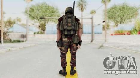 Battery Online Russian Soldier 3 v1 para GTA San Andreas tercera pantalla