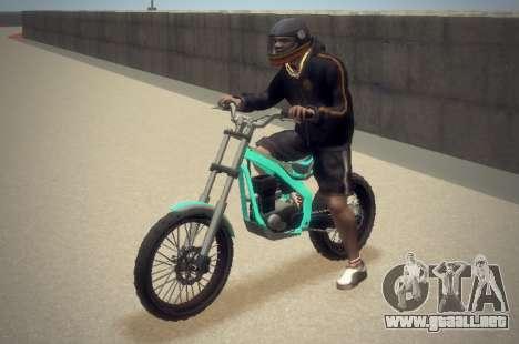 Trial Sanchez para GTA 4 vista hacia atrás