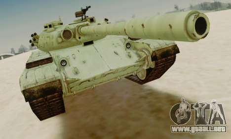 EL T-72A para GTA San Andreas left