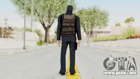 Bourne Conspirancy Euro Mercenary para GTA San Andreas tercera pantalla
