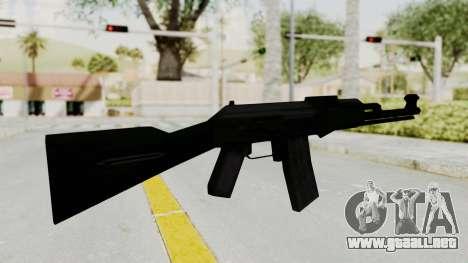 AK-74 SA Style para GTA San Andreas tercera pantalla