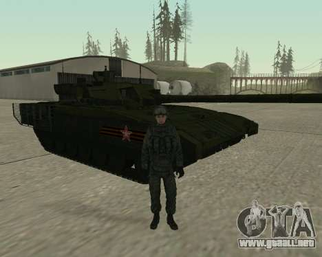 Modern Russian Soldiers pack para GTA San Andreas octavo de pantalla
