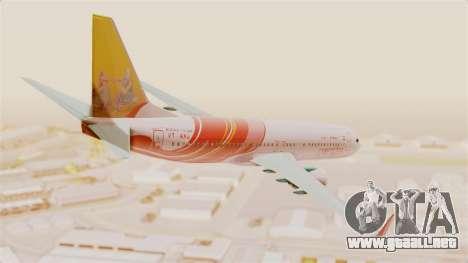 Boeing 737-8HG Air India Express para GTA San Andreas left