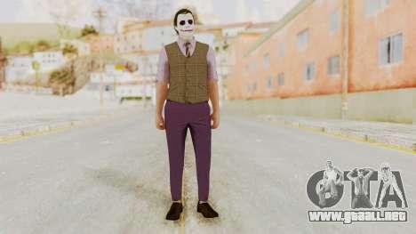 Joker Skin para GTA San Andreas segunda pantalla