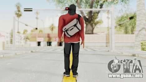 Battlefiled Hardline Professional Gang para GTA San Andreas tercera pantalla