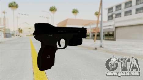 Killzone - M4 Semi-Automatic Pistol No Attach para GTA San Andreas segunda pantalla