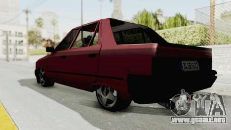 Renault Broadway v2 para GTA San Andreas vista posterior izquierda