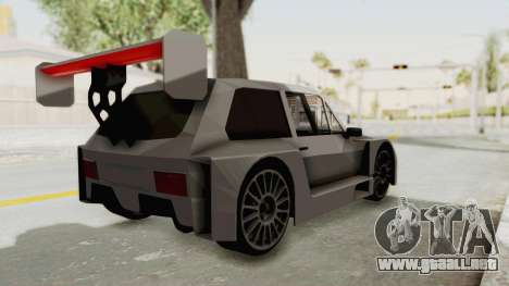 Yugo Koral Pikes Peak Beta v1.0 para GTA San Andreas left