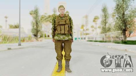 MGSV The Phantom Pain Soviet Union Vest v2 para GTA San Andreas segunda pantalla