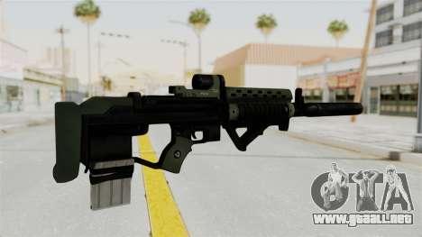 Killzone - M82 Assault Rifle Supressed para GTA San Andreas segunda pantalla