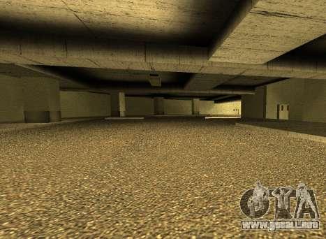 LSPD New Garage para GTA San Andreas tercera pantalla