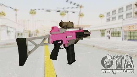 Special Carbine Pink Tint para GTA San Andreas segunda pantalla