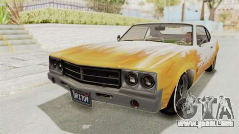 GTA 5 Declasse Sabre GT2 A IVF para el motor de GTA San Andreas