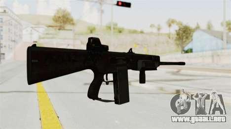 AA-12 Eotech Holo para GTA San Andreas segunda pantalla