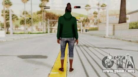 GTA 5 Denise Clinton v2 para GTA San Andreas tercera pantalla