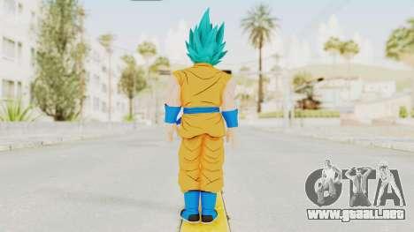 Dragon Ball Xenoverse Goku SJ para GTA San Andreas tercera pantalla