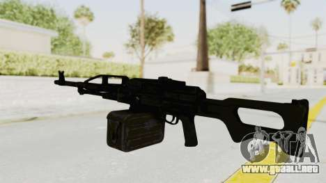 PKM 7.62mm Battlezone Mod para GTA San Andreas segunda pantalla