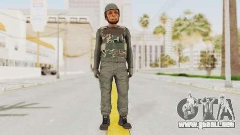 GTA 5 Online Skin (Last Team Standing) para GTA San Andreas segunda pantalla