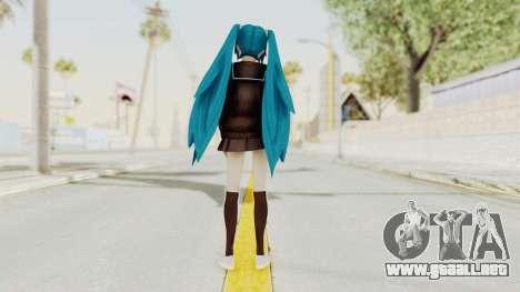 Project Diva F2nd - Hatsune Miku (Rolling Girl) para GTA San Andreas tercera pantalla