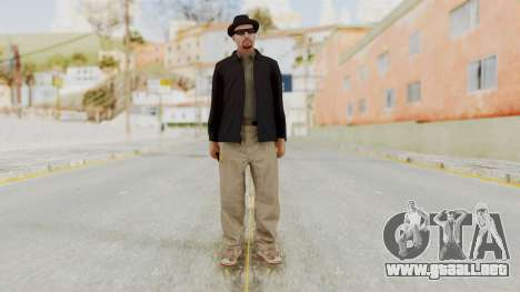 Walter White Heisenberg v1 GTA 5 Style para GTA San Andreas segunda pantalla