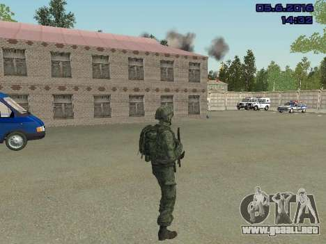 Modern Russian Soldiers pack para GTA San Andreas sexta pantalla