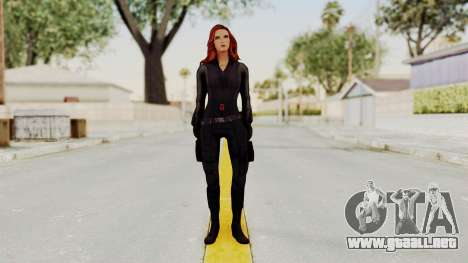 Captain America Civil War - Black Widow para GTA San Andreas segunda pantalla