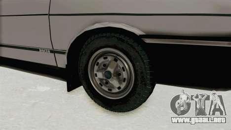 Dacia 1310 TX 1986 para GTA San Andreas vista hacia atrás