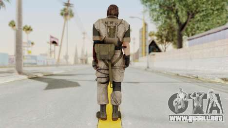 MGSV The Phantom Pain Venom Snake No Eyepatch v3 para GTA San Andreas tercera pantalla