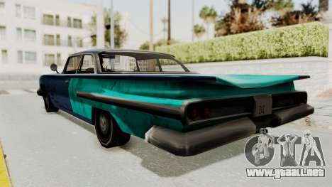Beater 1962 Voodoo para GTA San Andreas left