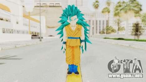 Dragon Ball Xenoverse Gohan Teen DBS SSGSS3 v2 para GTA San Andreas segunda pantalla
