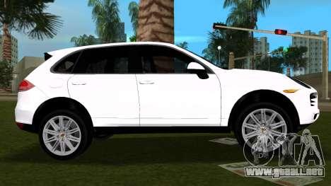 Porsche Cayenne 2012 para GTA Vice City left