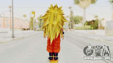 Dragon Ball Xenoverse Goku SSJ3 para GTA San Andreas tercera pantalla