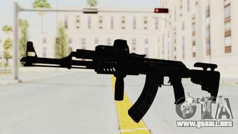 AK-47 Tactical para GTA San Andreas segunda pantalla