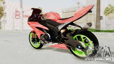 Kawasaki Ninja ZX-6R Boy from Anak Jalanan para GTA San Andreas left