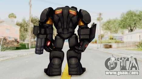 Marvel Future Fight - Hulk Buster Heavy Duty v2 para GTA San Andreas tercera pantalla