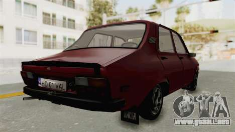 Dacia 1310 TX Realistica para GTA San Andreas left