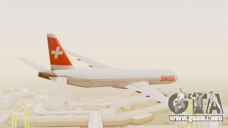 Boeing 777-300ER Swiss International Air Lines para la visión correcta GTA San Andreas