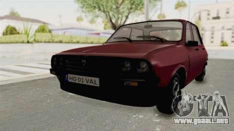 Dacia 1310 TX Realistica para la visión correcta GTA San Andreas