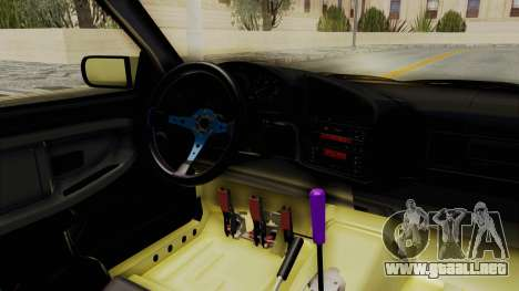 BMW M3 E36 Drift para visión interna GTA San Andreas