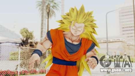 Dragon Ball Xenoverse Goku SSJ3 para GTA San Andreas