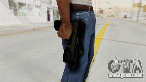 Killzone - M4 Semi-Automatic Pistol para GTA San Andreas tercera pantalla