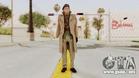 MGSV TPP Kazuhira Miller Motherbase para GTA San Andreas segunda pantalla