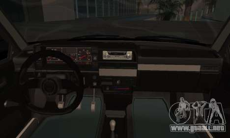 2109 para GTA San Andreas vista hacia atrás
